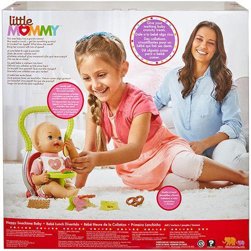 Boneca Little Mommy - Primeiro Lanchinho - Mattel
