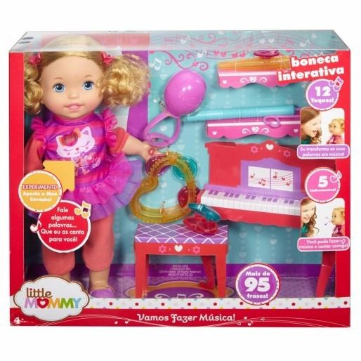 Boneca Little Mommy - Vamos Fazer Música - Mattel