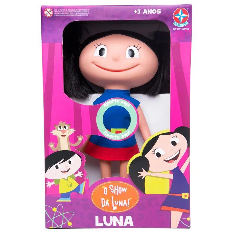 Boneca Luna que Fala - O Show da Luna - Estrela