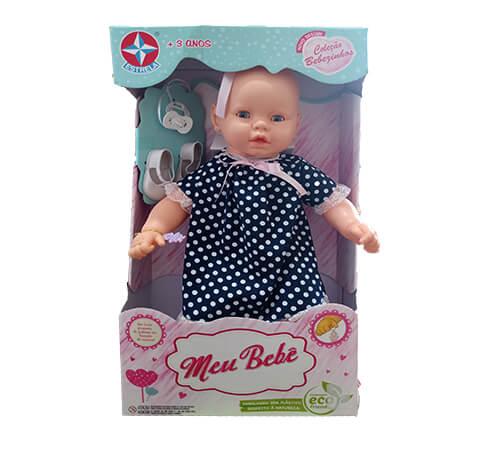 Boneca Meu Bebê - 60 cm - Estrela