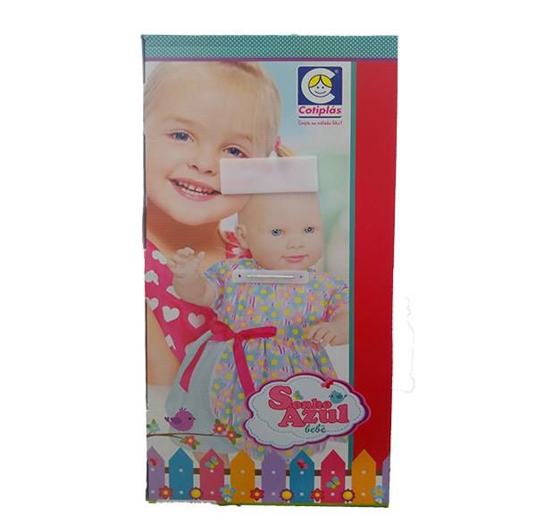 Boneca Sonho Azul Bebê - Cotiplás