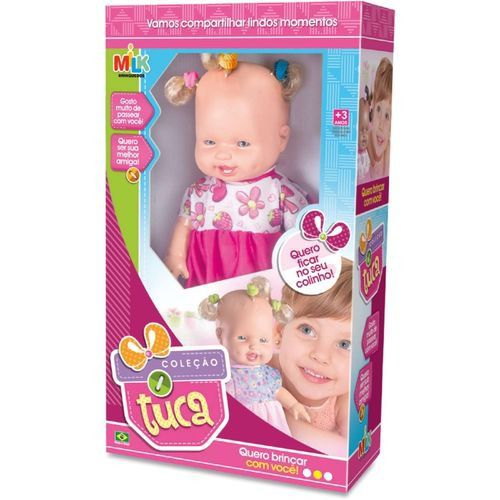 Boneca Tuca Loira - Milk Brinquedos