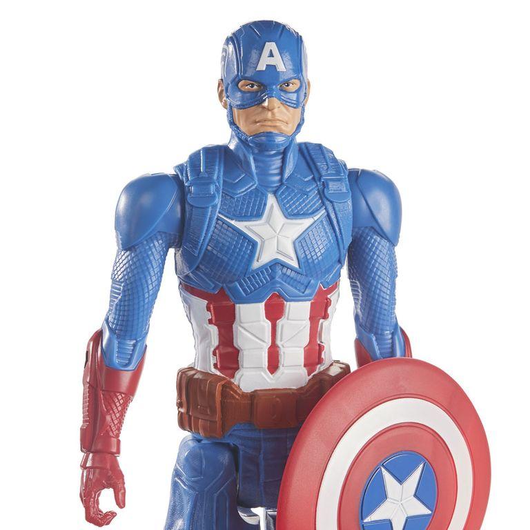 Boneco Capitão América - 30 Cm - Titan Heroes - Marvel - Avengers -  Hasbro