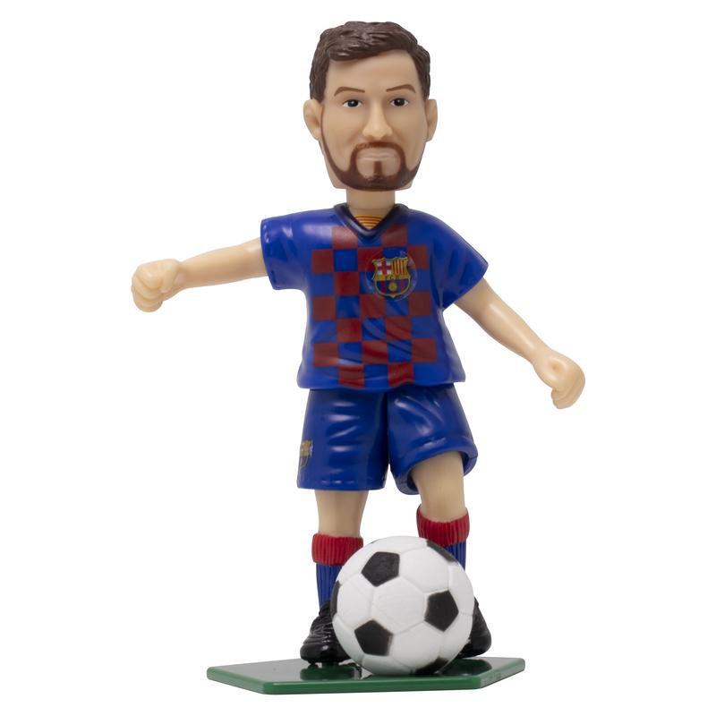 Boneco Colecionável - Messi - Barcelona FC - Futebol e Magia