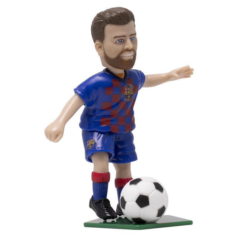 Boneco Colecionável - Piqué - Barcelona FC - Futebol e Magia