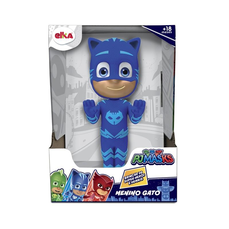 Boneco de Vinil - Menino Gato - PJ Masks - Elka