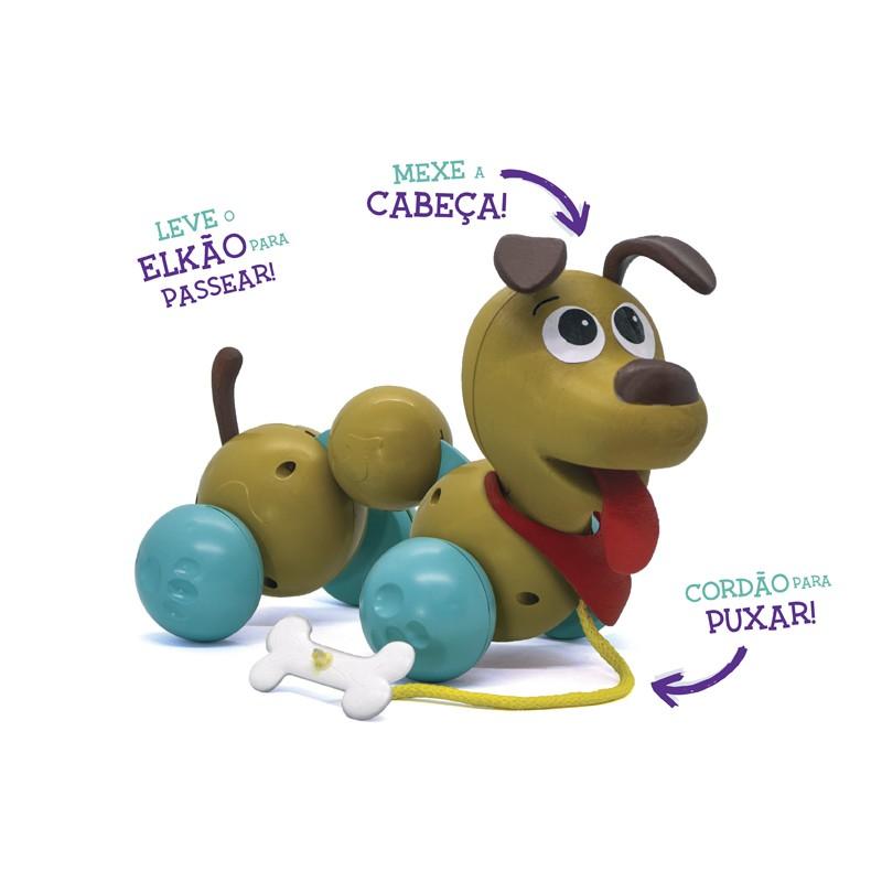Boneco - Elkão Quer Passear - Elka