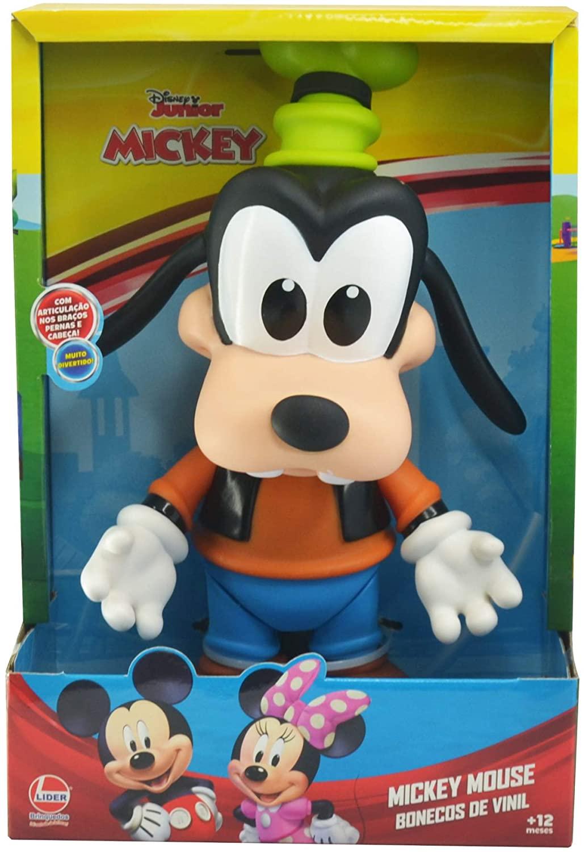 Boneco de Vinil - Pateta - 27 cm - Líder Brinquedos
