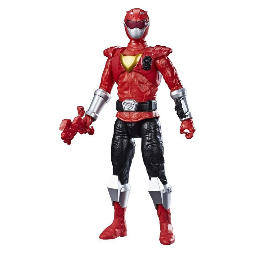 Boneco Power Ranger Beast Red - Vermelho - Hasbro
