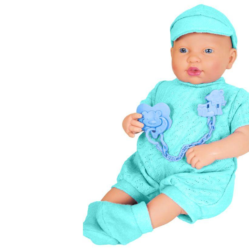 Coleção Ninos - Bebê Reborn - Menino - Pesadinho - Cotiplás