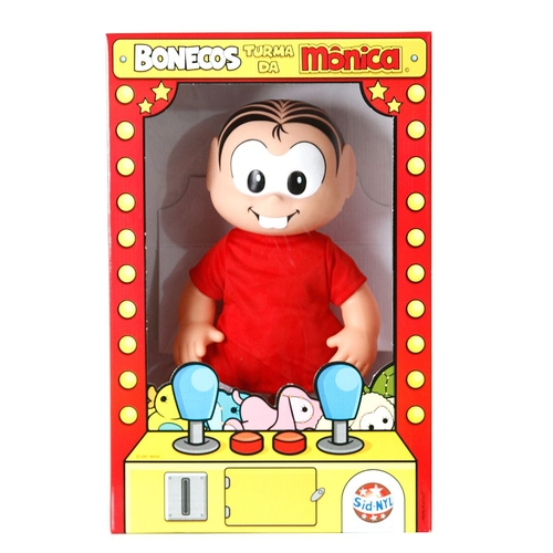 Bonecos da Turma da Mônica - Mônica - 35cm - Sid Nyl