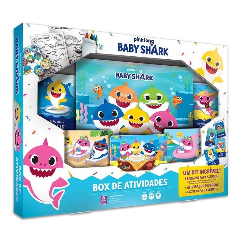 Box de Atividades - Baby Shark - Copag