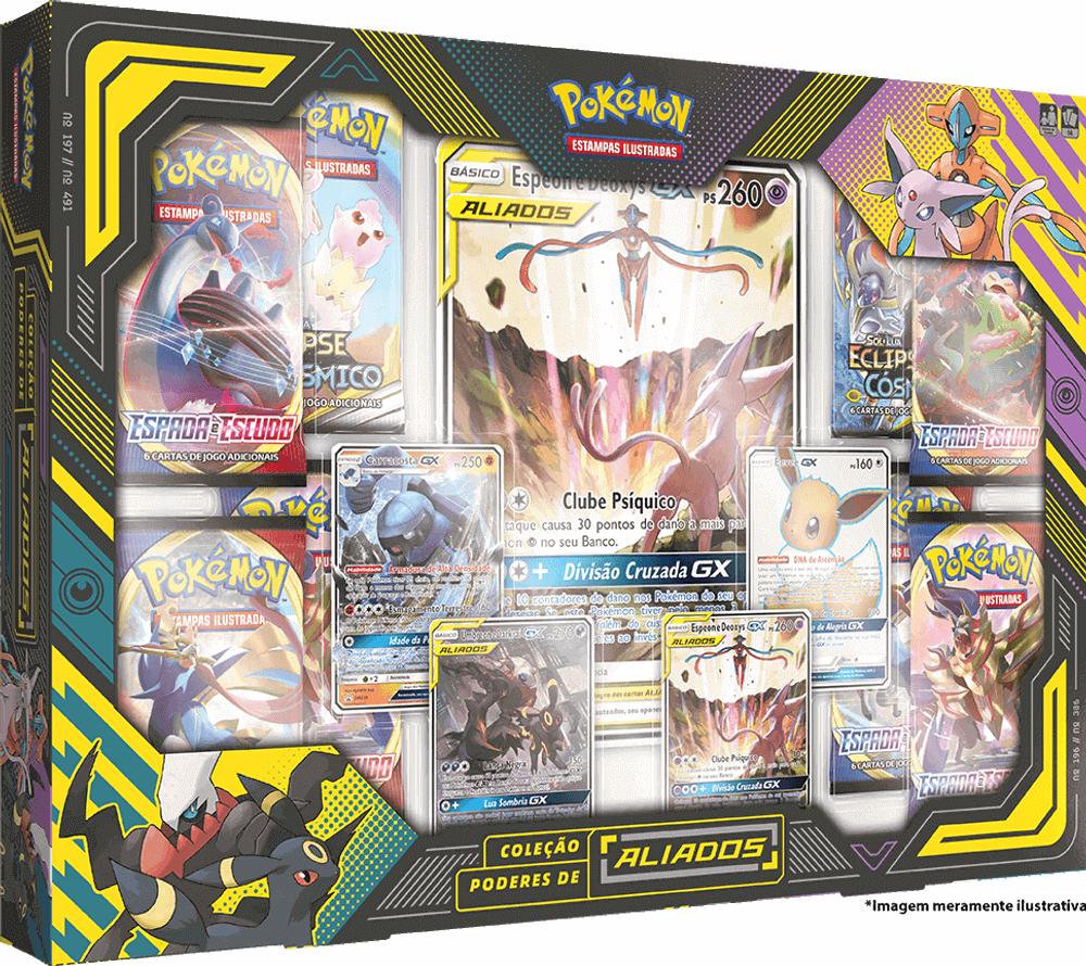 Box Pokémon - Coleção Poderes de Aliados  - Copag
