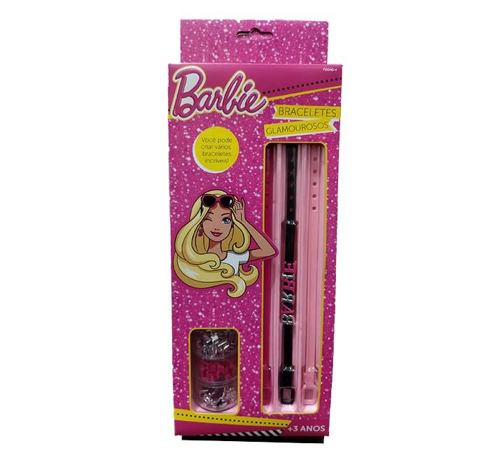 Braceletes Glamurosos - Barbie - Fun