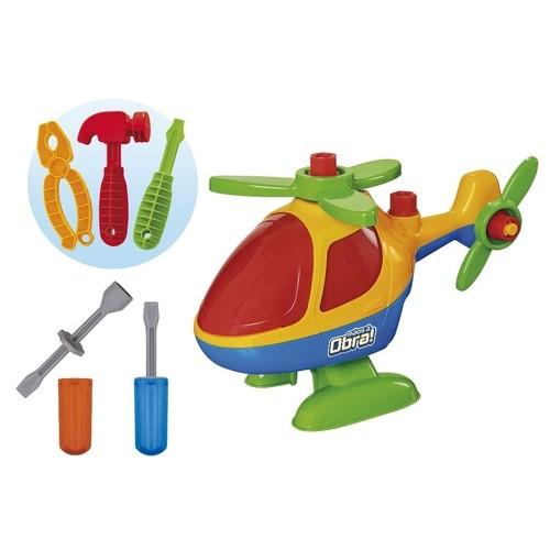 Brinquedo Didático - Helicóptero - Monta E Desmonta - Usual Brinquedos
