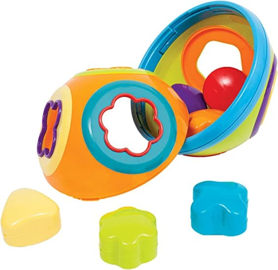 Brinquedo infantil - Bola Formas de Encaixe - Buba