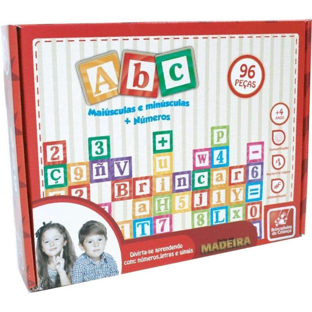 Brinquedos Educativos - Números e Letras - Brincadeira de Criança