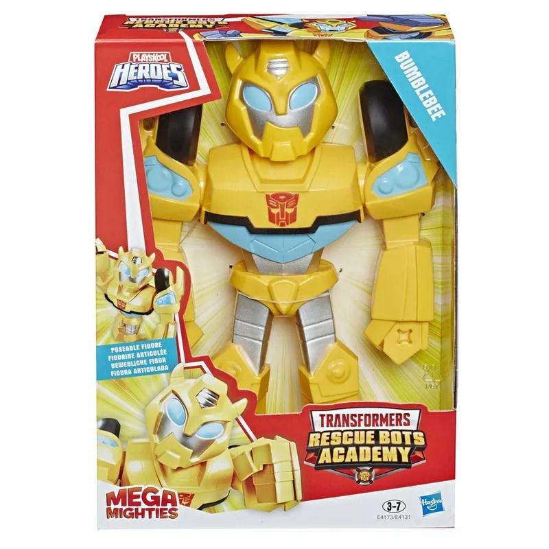 Transformers Bumblebee - Playskool - Mega Mighties - Articulado 25 cm - Hasbro