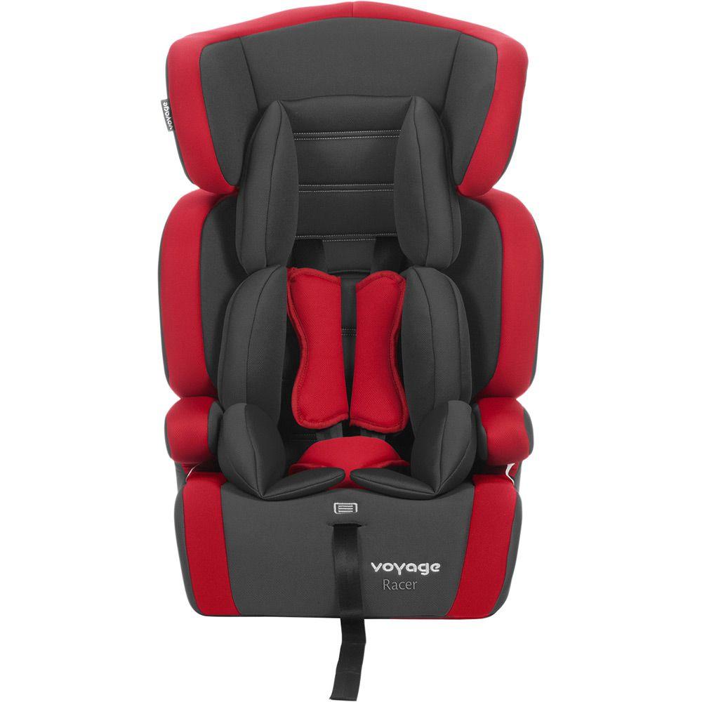 Cadeira Carro - Racer - Preta e Vermelha - de 9 à 36Kg - Voyage