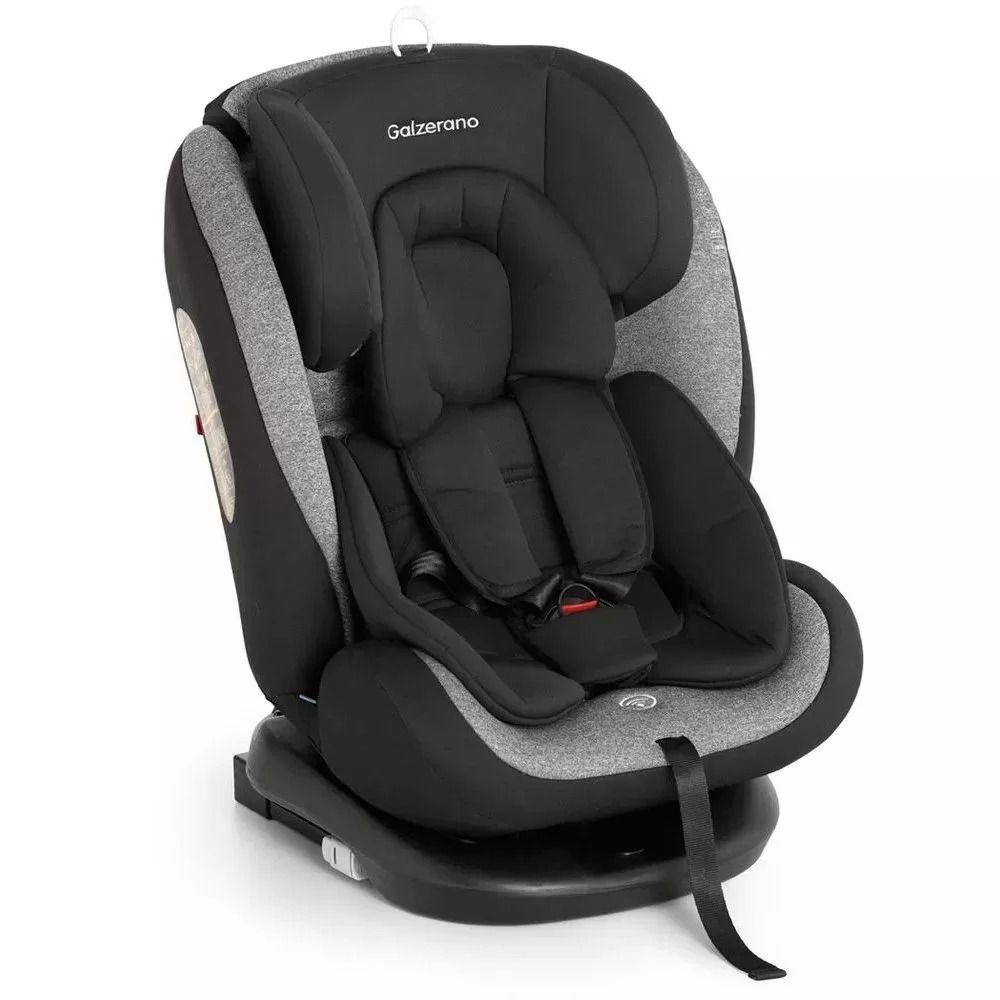 Cadeira Para Auto - Gaia - Preto Cinza - até 15kg - Galzerano