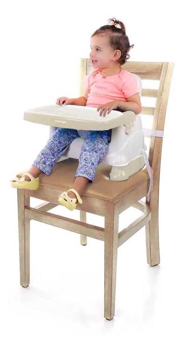 Cadeira de Refeição Portátil - Fun - Bege - Voyage