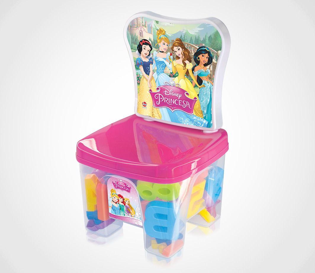 Cadeirinha Educa Kids - Princesa - Líder Brinquedos