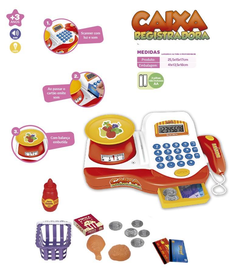 Caixa registradora infantil - Zoop Toys