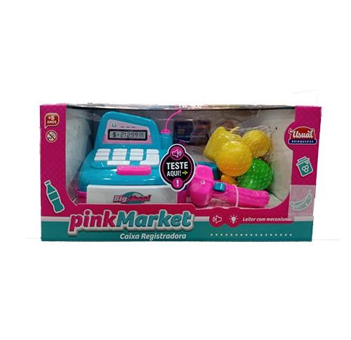 Caixa Registradora - Pink Market - Usual Brinquedos