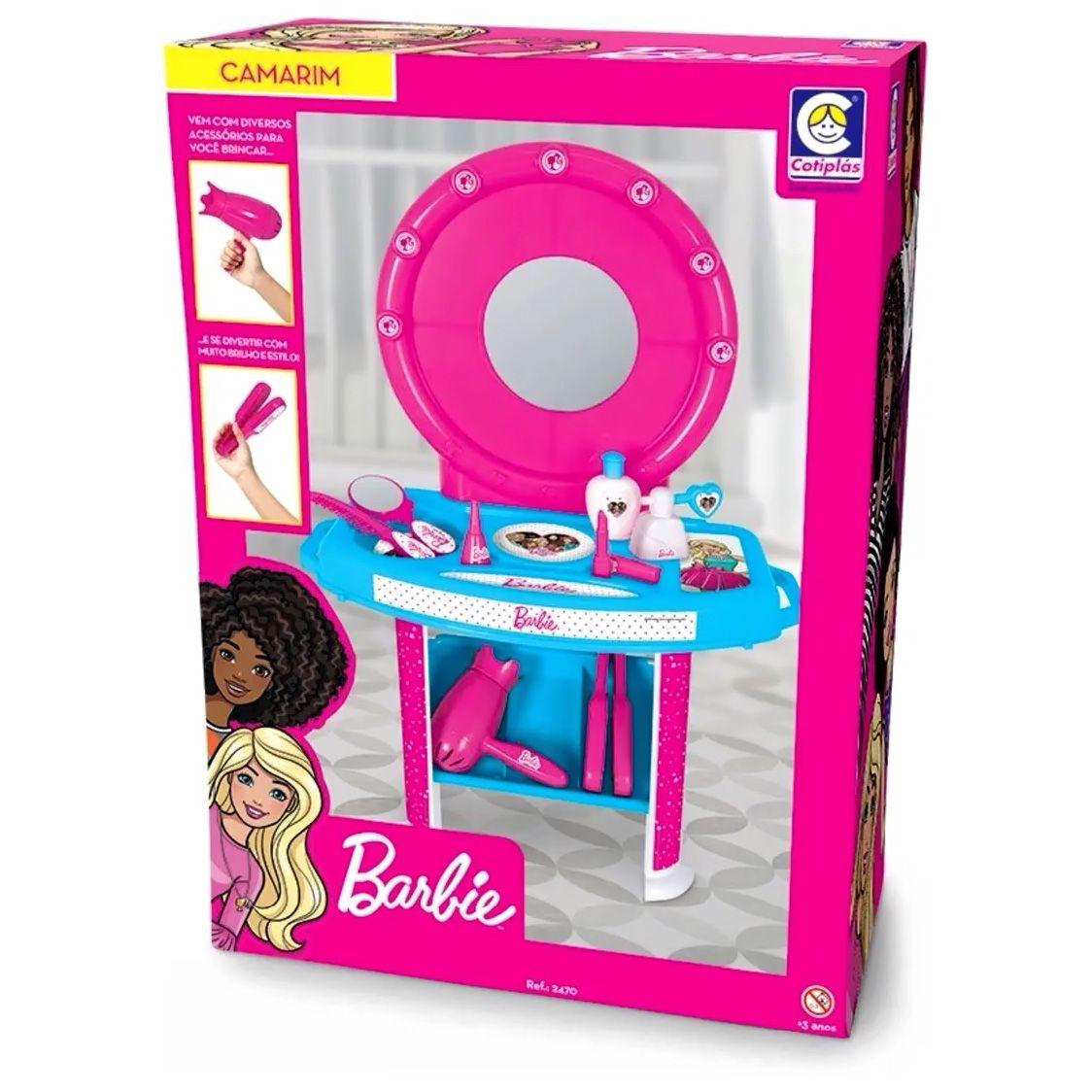 Camarim da Barbie - Com Acessórios - Cotiplás