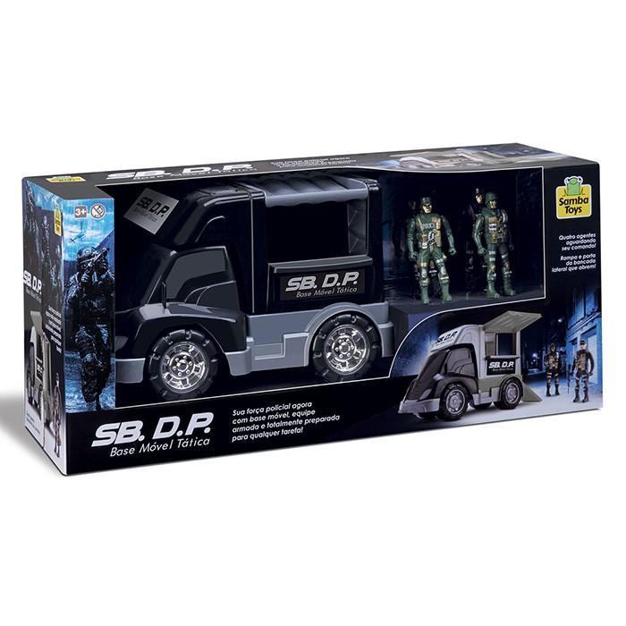 Caminhão SB. D.P - Base Móvel Tática - Samba Toys