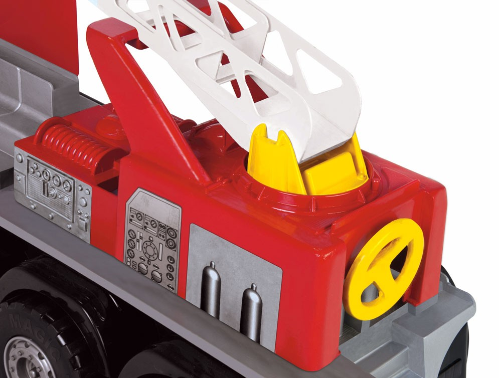 Caminhão Super Bombeiro - Com Capacete - Magic Toys