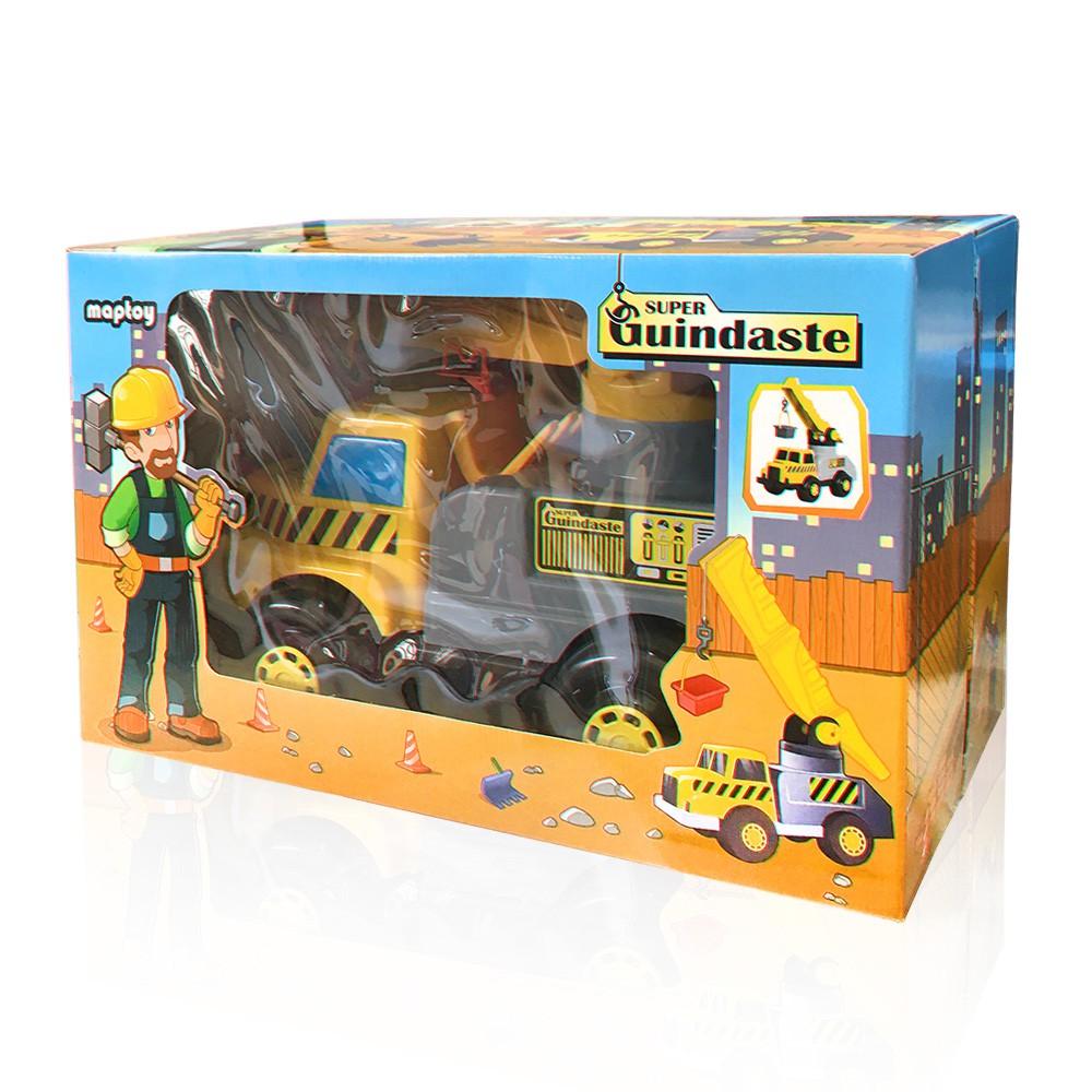 Caminhão Super Guindaste - Maptoy