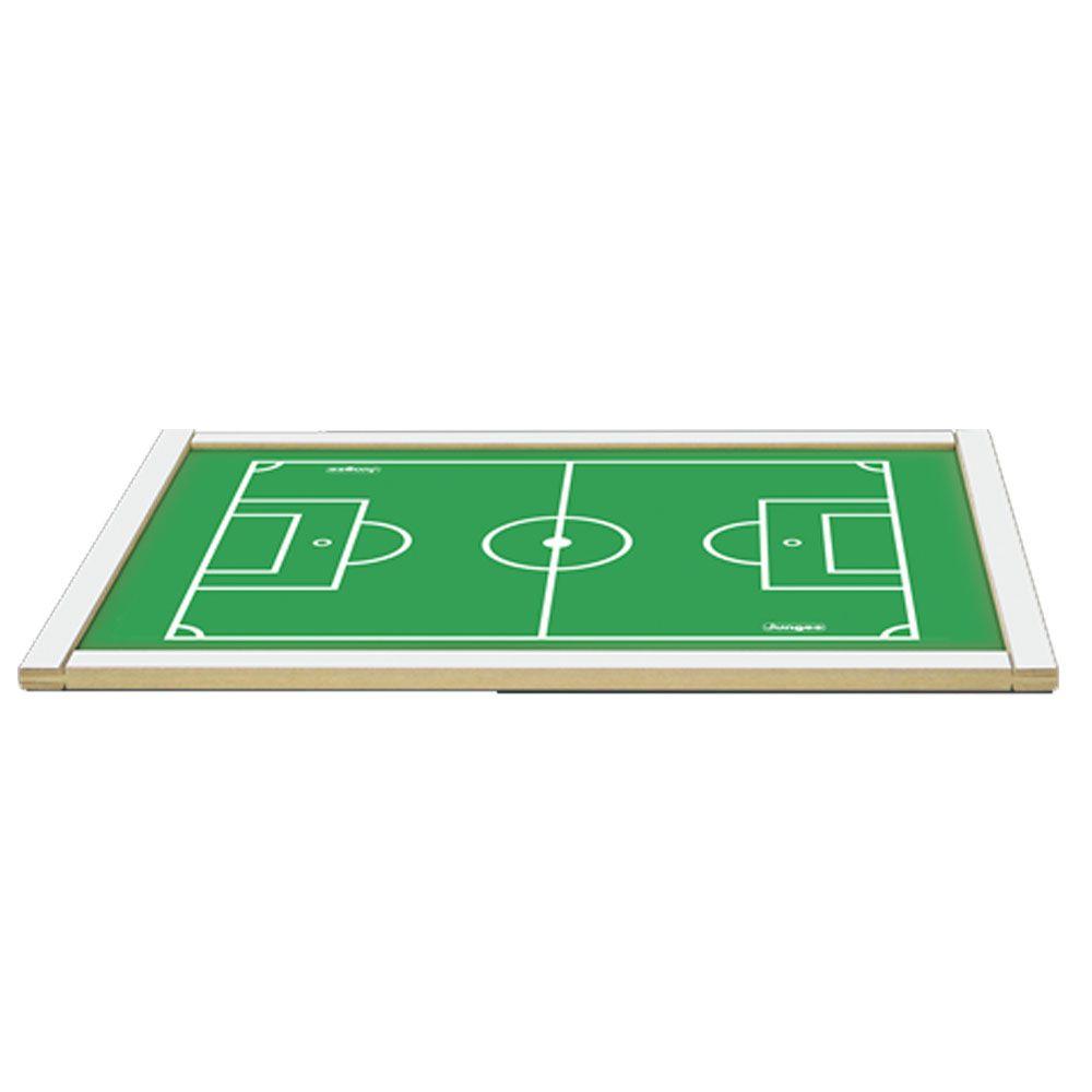 Campo de Futebol de Botão - Madeira - Junges Brinquedos