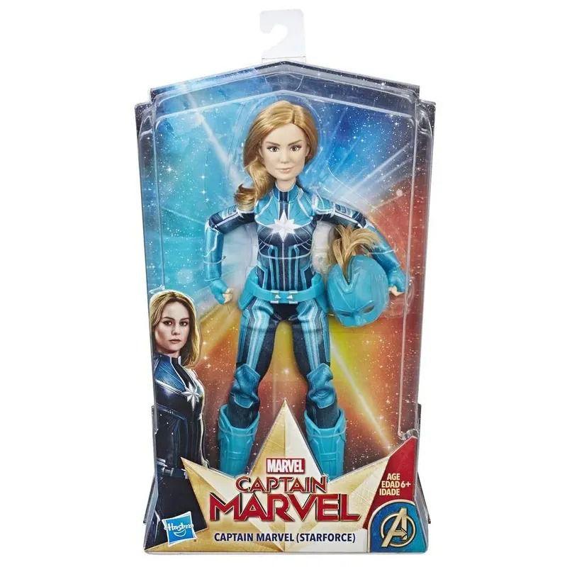 Boneca Articulada - Capitã Marvel - 30 Cm - Starforce - Hasbro