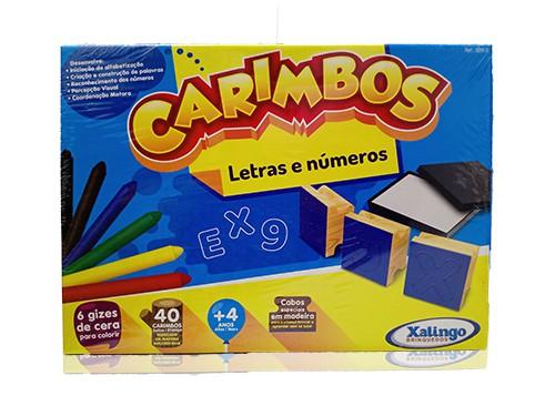 Carimbos - Letras e Números - Xalingo