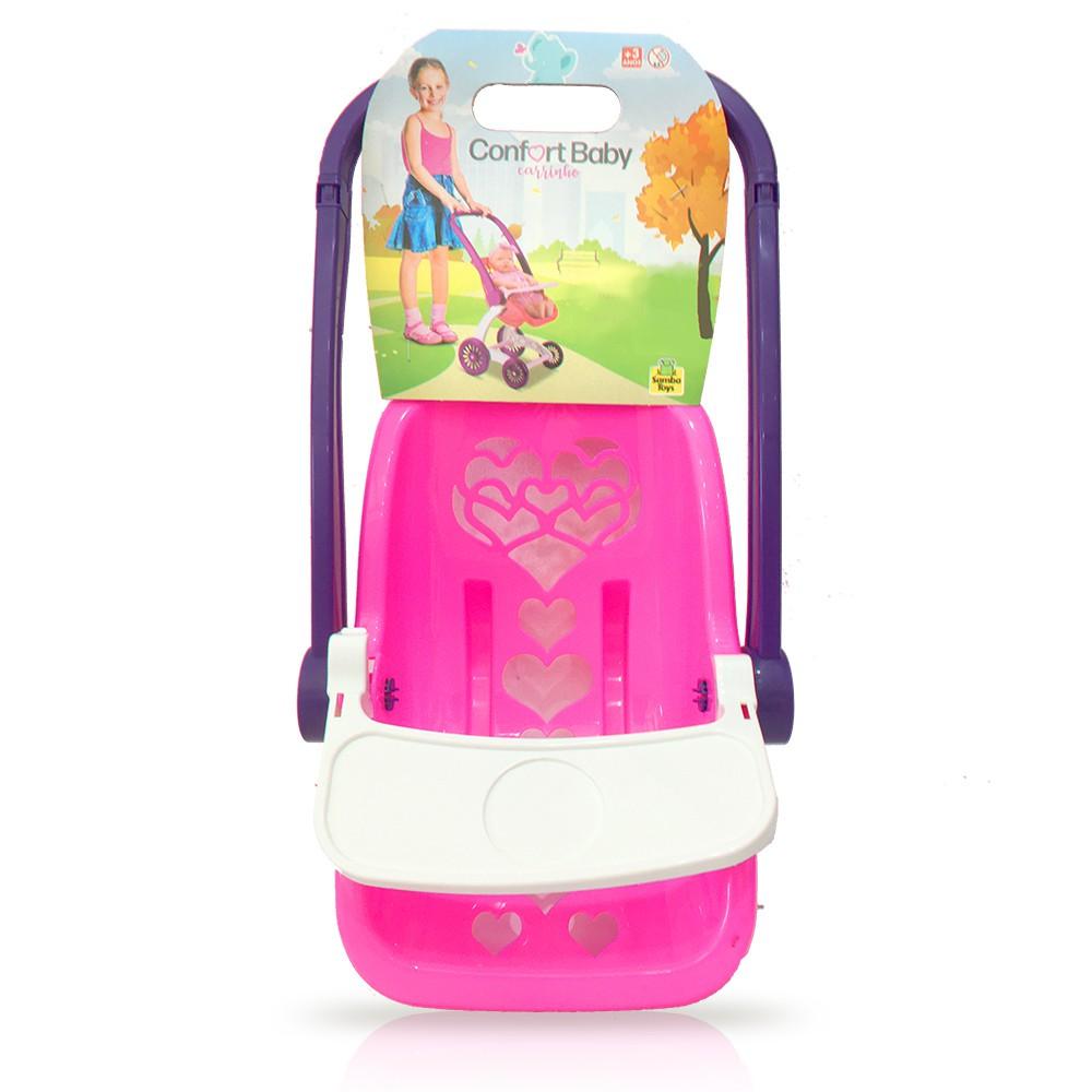 Carrinho de Boneca - Confort Baby - Samba Toys