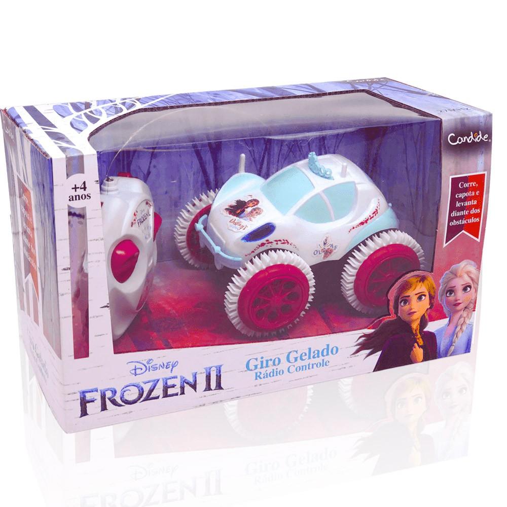 Carro de Controle Remoto - Frozen 2 - Giro Gelado - Candide