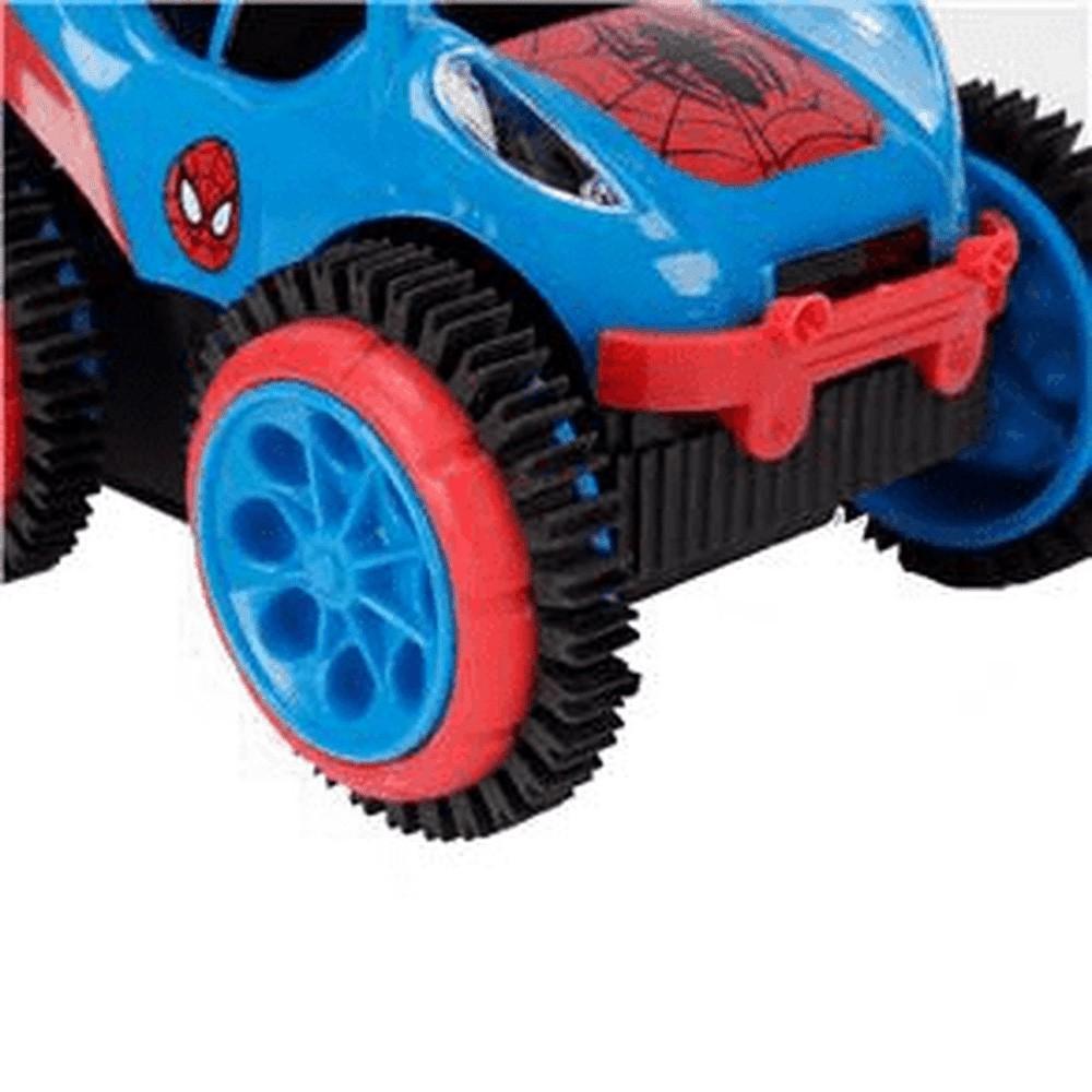 Carro de Controle Remoto - Homem Aranha - Spider Flip - Candide