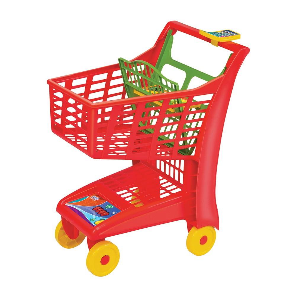Carrinho de Mercado Infantil - Market Vermelho - Magic Toys