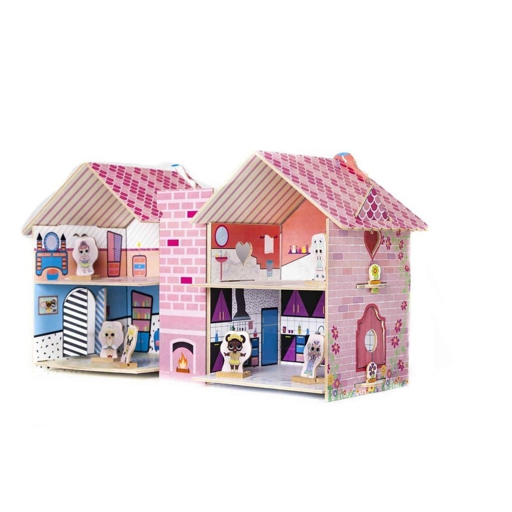 Casa Divertida da DOLL - Em Madeira - Brincadeira de Criança