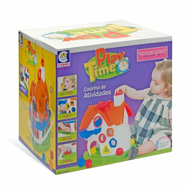 Casinha de Atividades - Play Time - Cotiplás