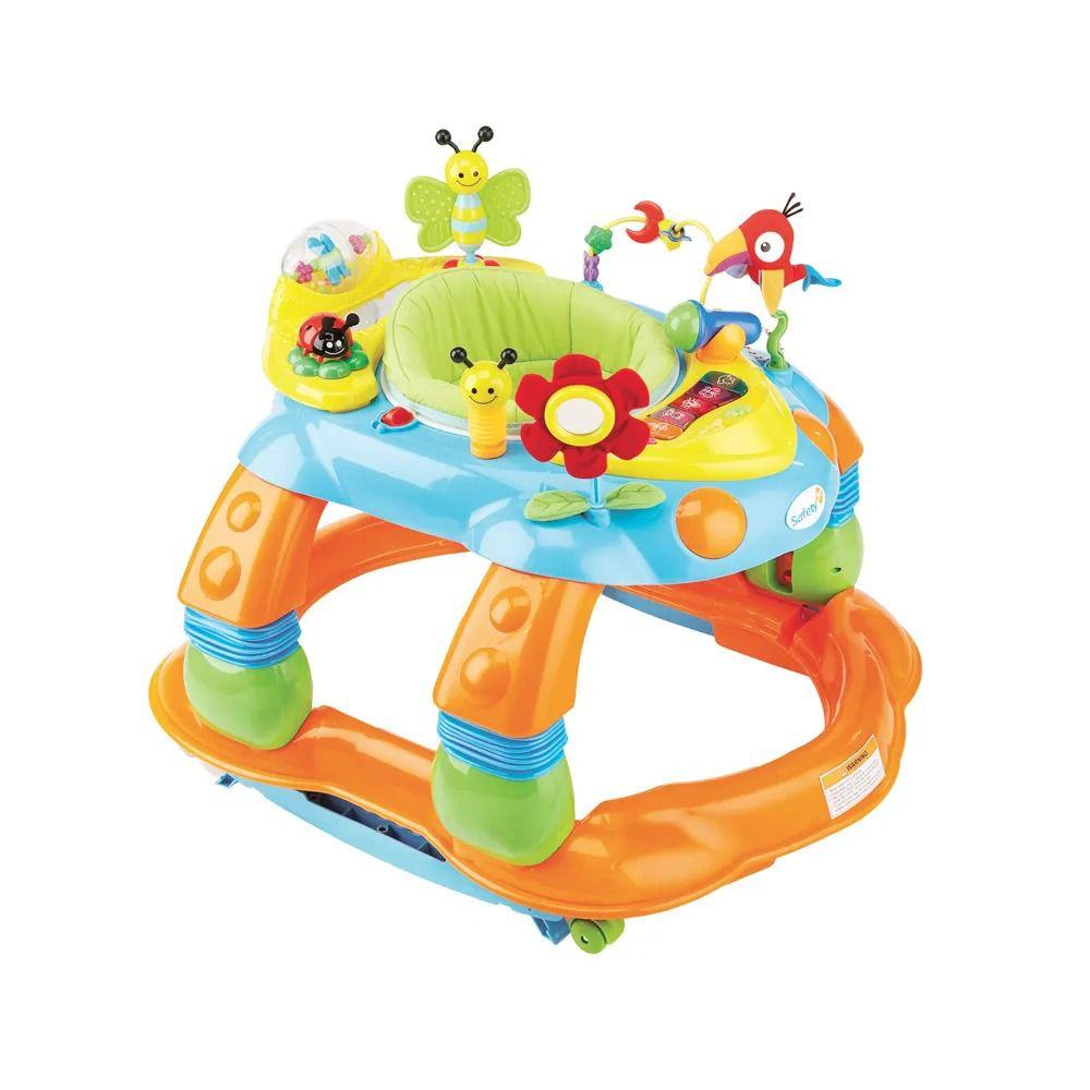 Centro de Atividades Melody Garden - Colorido - Safety First