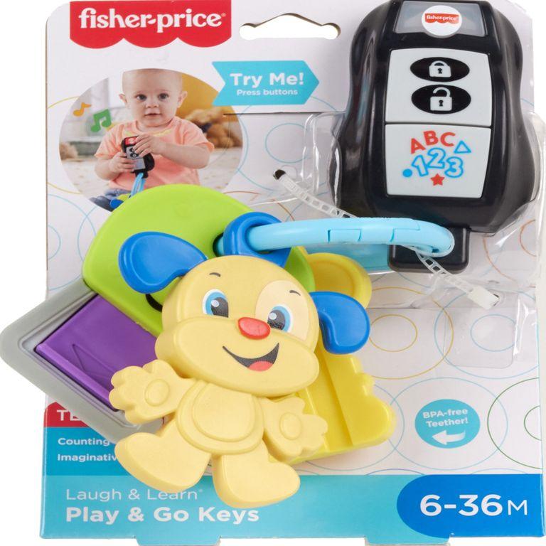 Chaveiro com Luzes e Sons - Aprender e Brincar - Fisher-Price