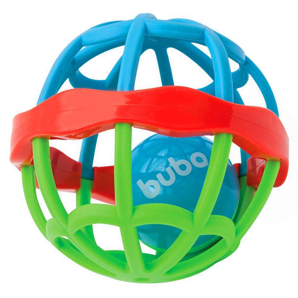 Chocalho Baby Ball Vermelho - Cute Colors - Buba