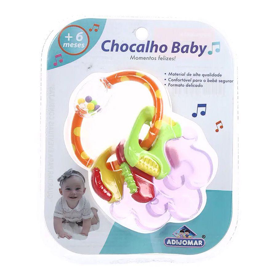 Chocalho Baby - Chaveiro - Adijomar