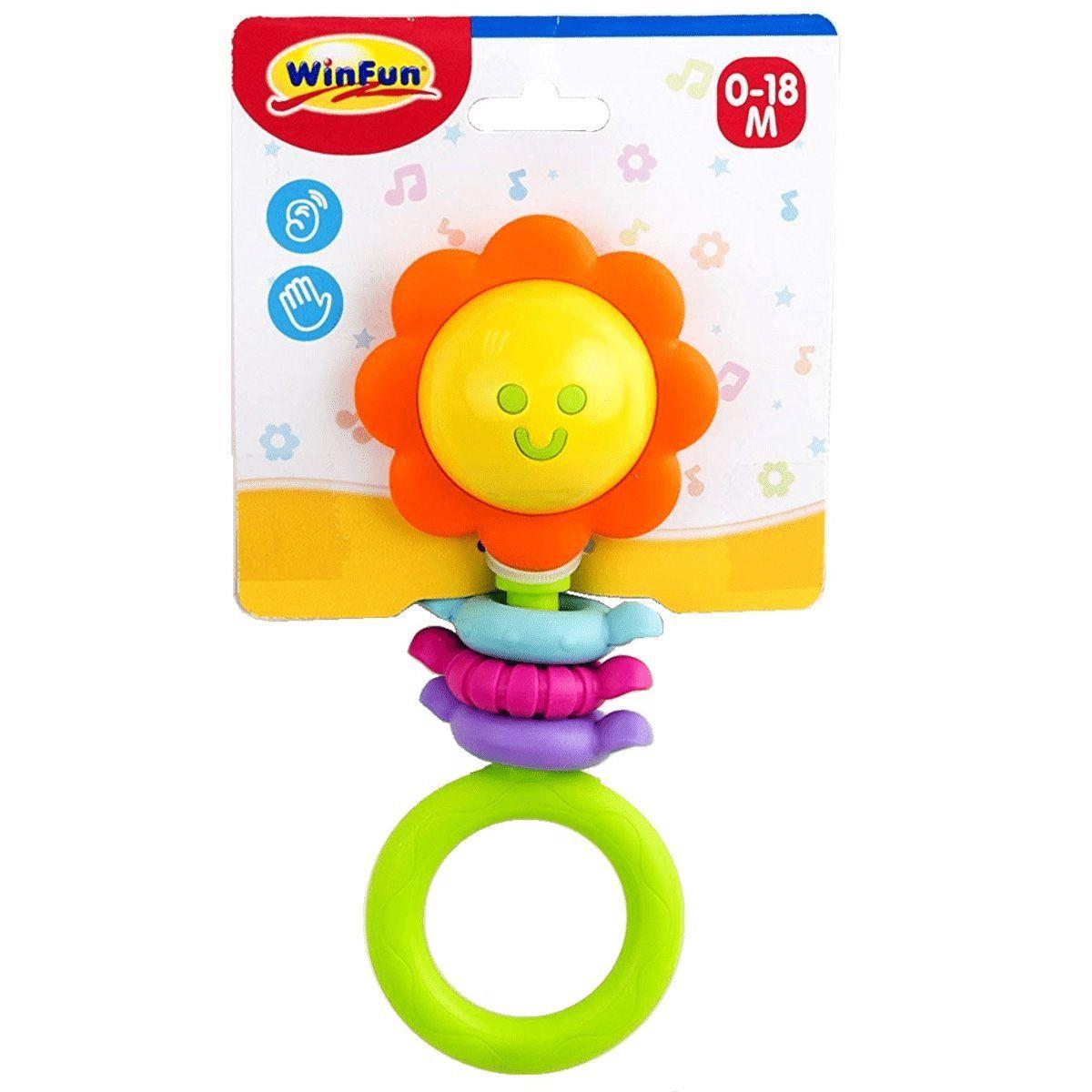 Chocalho Infantil - Flor - WinFun