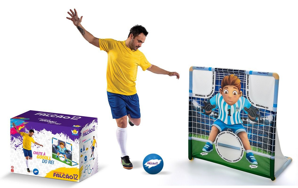 Chute à Gol do Falcão - Angel Toys