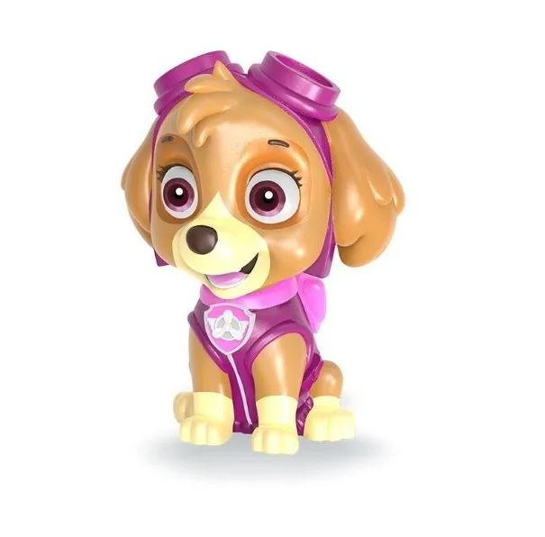 Cofrinho Patrulha Canina - Poupatrulha - Boneco Skye - Líder Brinquedos