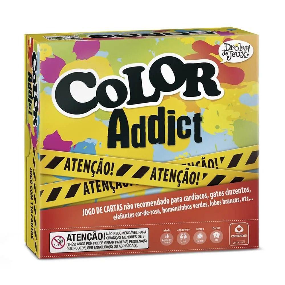 Color Addict - Viciado em Cores - Copag