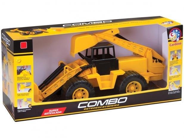 Retroescavadeira Combo - Brinquedos Cardoso